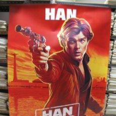 Cine: STAR WARS HAN SOLO 4 BANERS MIDEN 2 METROS X 140. Lote 123315459