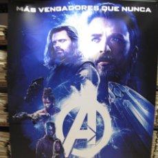 Cine: LOS VENGADORES INFINITY WAR 5 BANERS MIDEN 2 METROS X 140. Lote 123315691