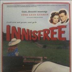 Cine: INNISFREE - POSTER CARTEL ORIGINAL - JOSE LUIS GUERIN JOHN WAYNE EL HOMBRE TRANQUILO SIN DOBLAR. Lote 123381591