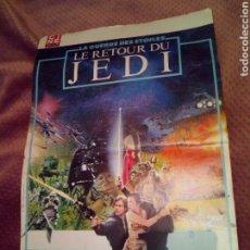 Cine: POSTER CINE REVUE EL RETORNO DEL JEDI RETOUR DU JEDI. Lote 123515924