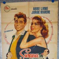 Cine: SUSANA Y YO ABBE LANE, JORGE RIVIERE, XAVIER CUGAT. Lote 175960423