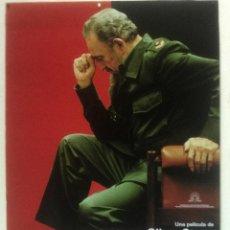 Cinéma: LOOKING FOR FIDEL - POSTER CARTEL ORIGINAL - OLIVER STONE FIDEL CASTRO CUBA LA HABANA MASTRETTA. Lote 124131135