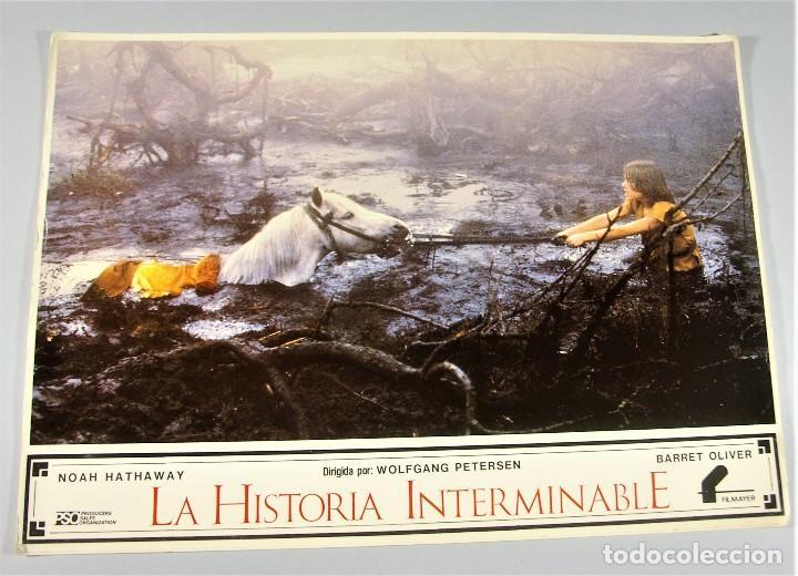 LA HISTORIA INTERMINABLE - WOLFGANG PETERSEN FILMAYER 1984- CARTEL CINE CARTELERA AFICHE VINTAGE - 2 (Cine - Posters y Carteles - Aventura)
