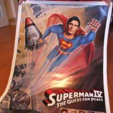 Cine: POSTER DE CINE SUPERMAN IV VERSION AMERICANA. Lote 124564747