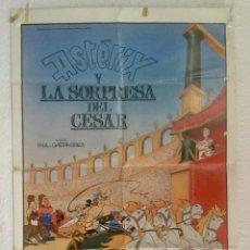 Cine: ASTERIX Y LA SORPRESA DEL CESAR - POSTER CARTEL ORIGINAL - UDERZO GOSCINNY ANIMACION OBELIX. Lote 124616867