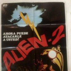 Cine: ALIEN 2 - POSTER CARTEL ORIGINAL - BELINDA MAYNE MARC BODIN ALIEN 2: ON EARTH MICHELE SOAVI. Lote 124767147