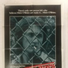 Cine: BAD BOYS - POSTER CARTEL ORIGINAL USA - SEAN PENN ALLY SHEEDY RICK ROSENTHAL. Lote 125125287