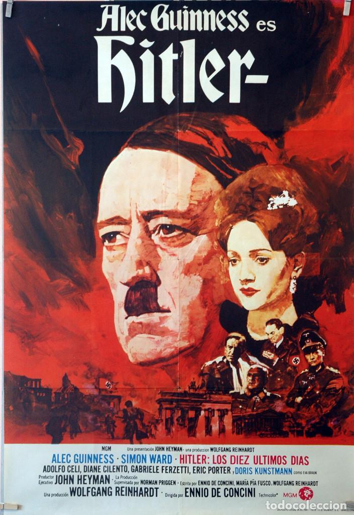 HITLER. CARTEL ORIGINAL 1973. 70X100 (Cine - Posters y Carteles - Bélicas)