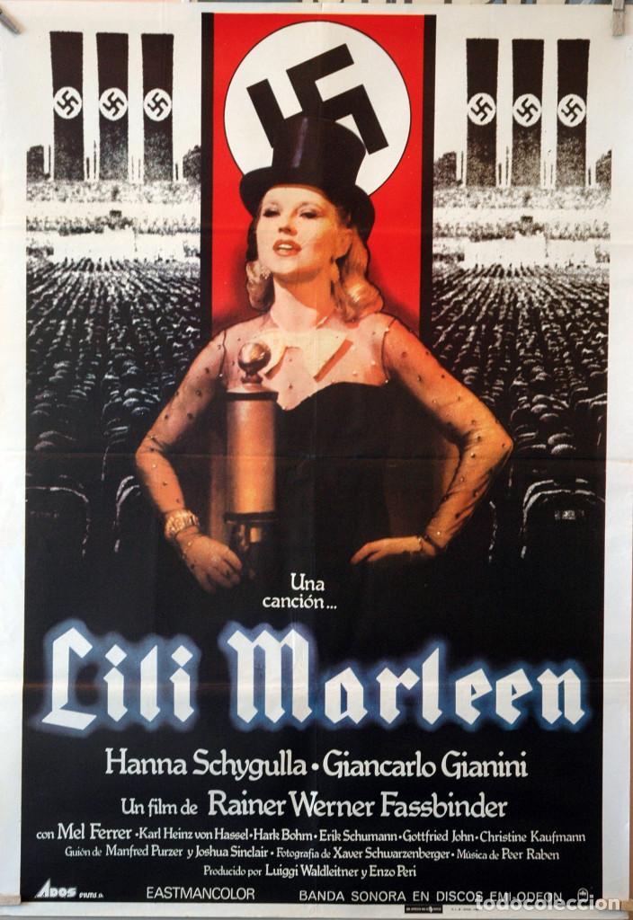 LILI MARLEEN. CARTEL ORIGINAL 1980. 70X100 (Cine - Posters y Carteles - Bélicas)