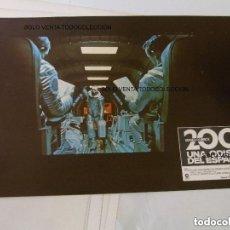 Cine: 2001 UNA ODISEA DEL ESPACIO STANLEY KUBRICK FOTOCROMO CARTEL DE CINE ORIGINAL 1968. Lote 125370015