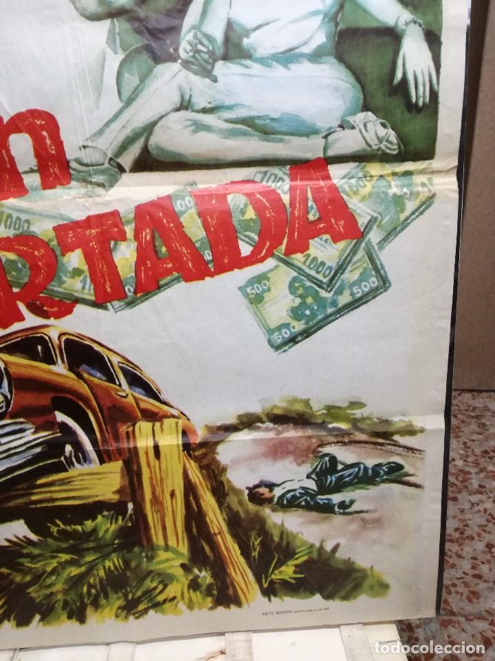 Cine: CARTEL LA GRAN COARTADA - ARTURO FERNANDEZ - MARISA DE LEZA - JOSE LUIS MADRID-100X70CM.AÑO 1963 - Foto 5 - 125383599