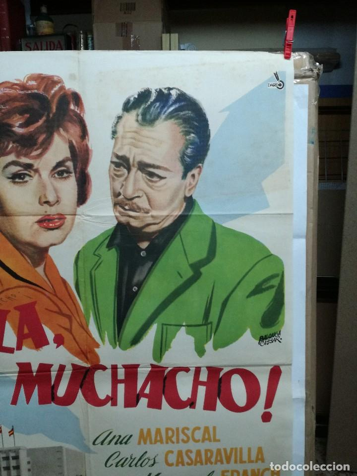 Cine: HOLA MUCHACHO ANA MARISCAL POSTER ORIGINAL 70X100 ESTRENO VER FOTOS - Foto 3 - 125832939