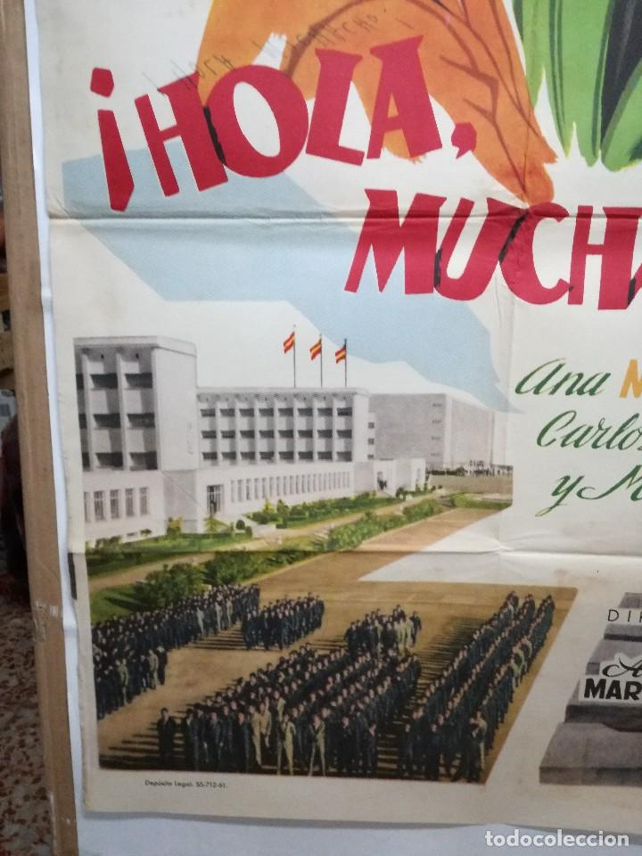 Cine: HOLA MUCHACHO ANA MARISCAL POSTER ORIGINAL 70X100 ESTRENO VER FOTOS - Foto 4 - 125832939