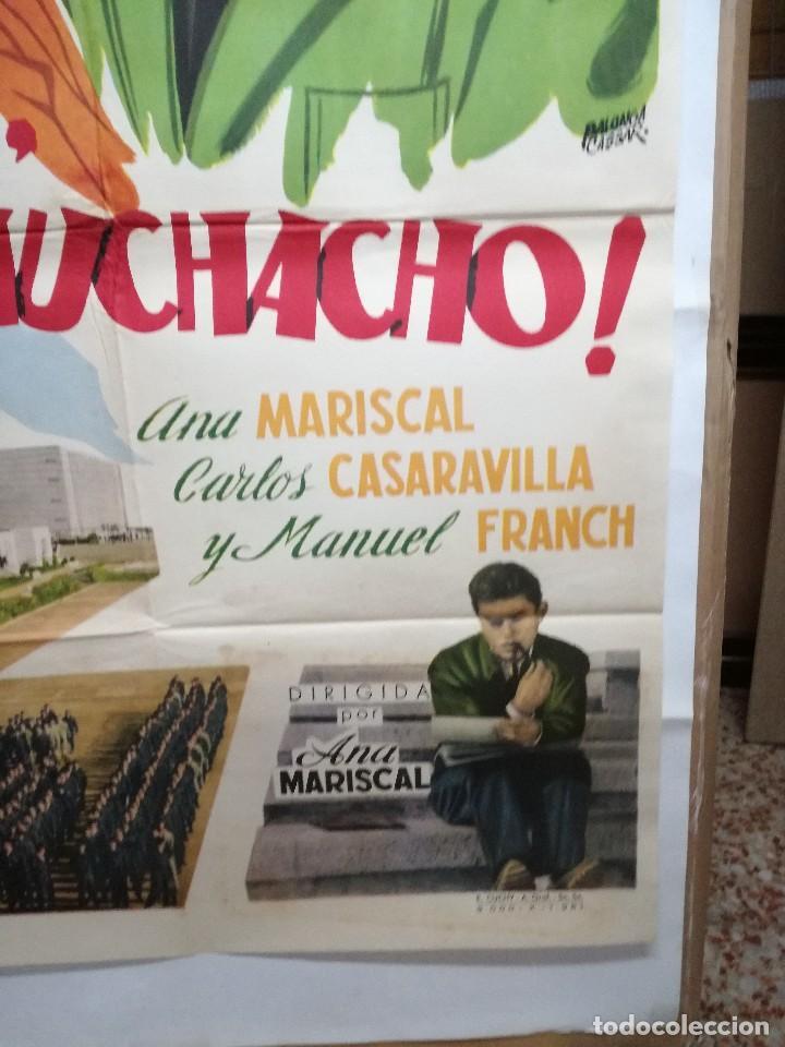 Cine: HOLA MUCHACHO ANA MARISCAL POSTER ORIGINAL 70X100 ESTRENO VER FOTOS - Foto 5 - 125832939