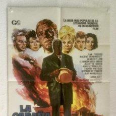 Cine: LA CABAÑA TIO TOM - POSTER CARTEL ORIGINAL - MYLENE DEMONGEOT JULIETTE GRECO JANO. Lote 125906043