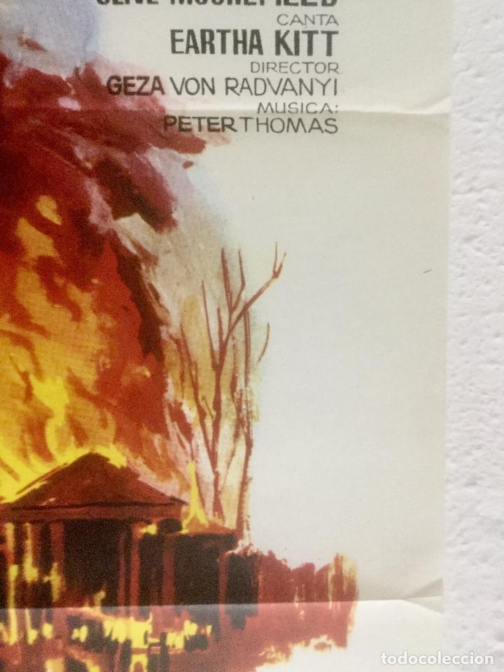 Cine: la cabaña tio tom - poster cartel original - mylene demongeot juliette greco jano - Foto 2 - 125906043