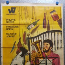 Cine: EL ARTE DE VIVIR.... PERO BIEN! PHILIPPE NOIRET, FRANCOISE BRION, MARLENE JOBERT. AÑO 1968. Lote 126032247