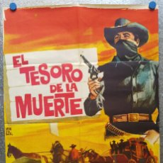 Cine: EL TESORO DE LA MUERTE. FERNANDO CASANOVA, GLORIA LOZANO. AÑO 1964. Lote 126032687