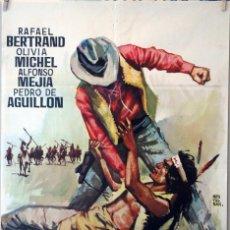 Cine: PUÑOS DE ROCA. CARTEL ORIGINAL 100X70. Lote 126147079
