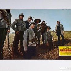 Cine: ANTIGUO CARTEL DE CINE - FOTOGRAMA PELICULA SHANGO PISTOLA INFALIBLE ANTHONY STEFFEN AÑO 1970. Lote 126156555