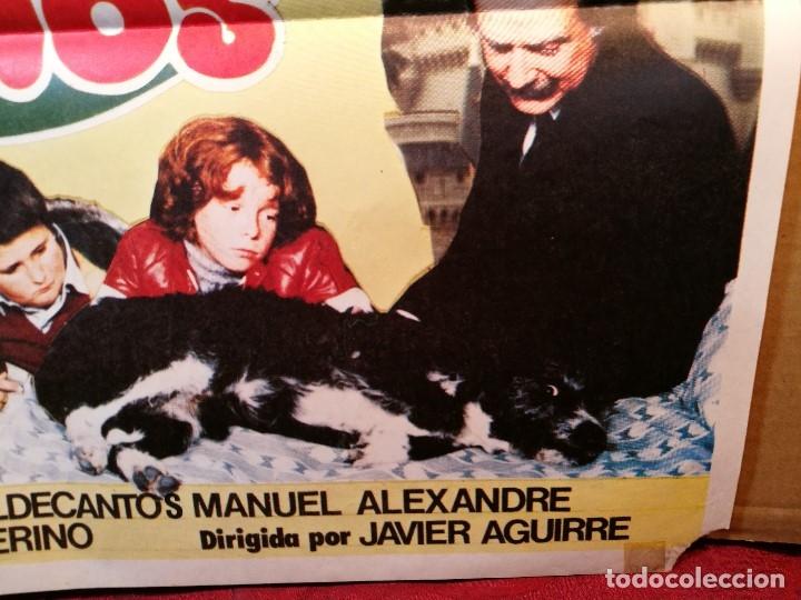 Cine: cartel cine orig LA 2ª GUERRA DE LOS NIÑOS (1981) 70x100 / Grupo Parchís / Manuel Alexandre - Foto 3 - 126431719