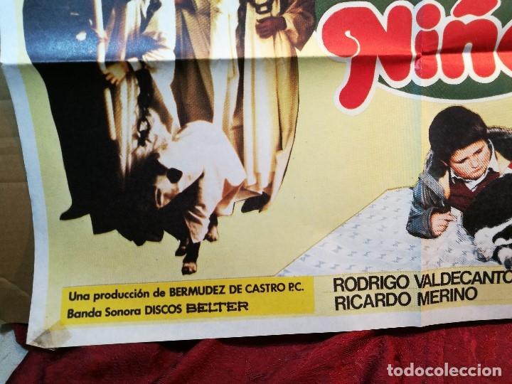 Cine: cartel cine orig LA 2ª GUERRA DE LOS NIÑOS (1981) 70x100 / Grupo Parchís / Manuel Alexandre - Foto 4 - 126431719
