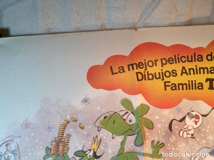 Cine: EL MAGO DE LOS SUEÑOS FAMILIA TELERIN ANIMACION POSTER ORIGINAL 70X100 ESPAÑOL - Foto 4 - 126432035