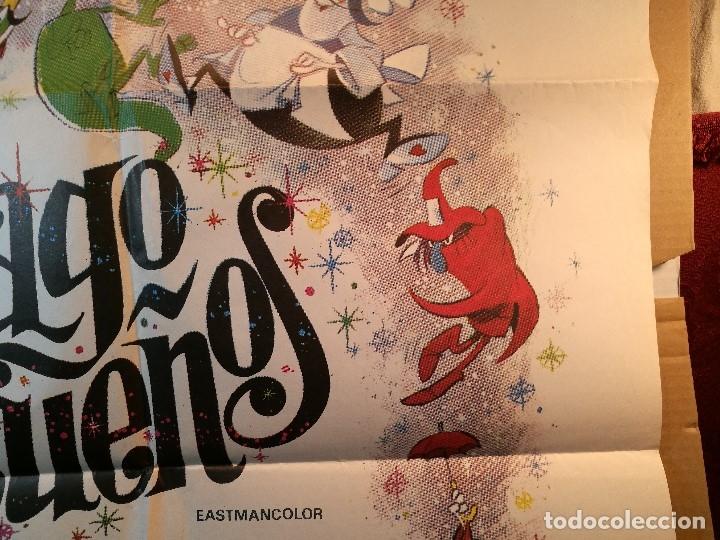 Cine: EL MAGO DE LOS SUEÑOS FAMILIA TELERIN ANIMACION POSTER ORIGINAL 70X100 ESPAÑOL - Foto 7 - 126432035