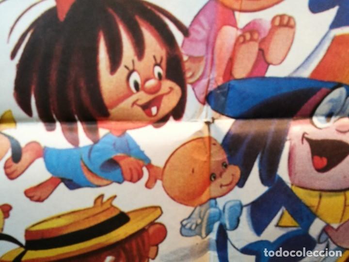 Cine: EL MAGO DE LOS SUEÑOS FAMILIA TELERIN ANIMACION POSTER ORIGINAL 70X100 ESPAÑOL - Foto 9 - 126432035