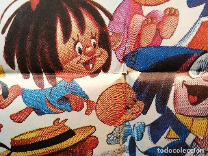 Cine: EL MAGO DE LOS SUEÑOS FAMILIA TELERIN ANIMACION POSTER ORIGINAL 70X100 ESPAÑOL - Foto 10 - 126432035
