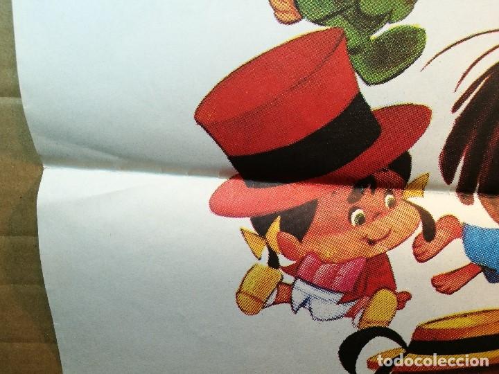 Cine: EL MAGO DE LOS SUEÑOS FAMILIA TELERIN ANIMACION POSTER ORIGINAL 70X100 ESPAÑOL - Foto 11 - 126432035