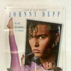 Cine: CRY BABY - POSTER CARTEL ORIGINAL USA - JOHN WATERS JOHNNY DEEP RICKI LAKE IGGY POP. Lote 126474563