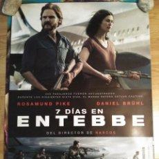 Cinema: 7 DÍAS EN ENTEBBE - APROX 70X100 CARTEL ORIGINAL CINE (L58). Lote 126598887