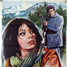 Cine: EL CALOR DE LA LLAMA. ANTONIO FERRANDIS-RAFAEL MARCHENT. CARTEL ORIGINAL 1976. 70X100. Lote 126767775