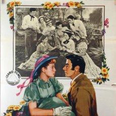 Cine: MUJERCITAS. ELIZABETH TAYLOR-PETER LAWFORD-MERVYN LEROY. CARTEL ORIGINAL 1971. 70X100. Lote 126768007