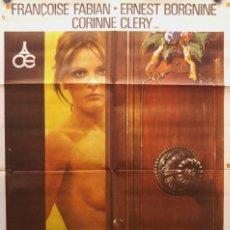 Cine: NAVIDAD EN UNA CASA DE CITAS. CORINNE CLÉRY, FRANÇOISE FABIAN. AÑO 1977 - EROTIC FILM. Lote 269097078