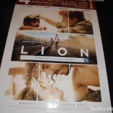Cine: LION. POSTER O CARTEL DE CINE. ORIGINAL.. Lote 245109465