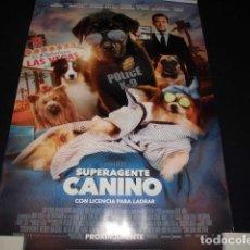 Cine: SUPER AGENTE CANINO. POSTER O CARTEL DE CINE. ORIGINAL.. Lote 127223839