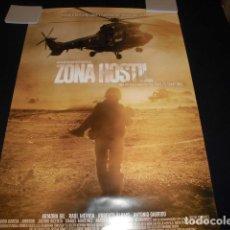 Cinéma: ZONA HOSTIL. POSTER O CARTEL DE CINE. ORIGINAL.. Lote 221005126