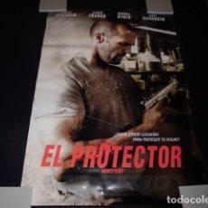Cinéma: EL PROTECTOR. POSTER O CARTEL ORIGINAL DE LA PELICULA.. Lote 127279075