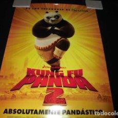 Cine: KUNG FU PANDA 2. POSTER O CARTEL ORIGINAL DE LA PELICULA.. Lote 127438679