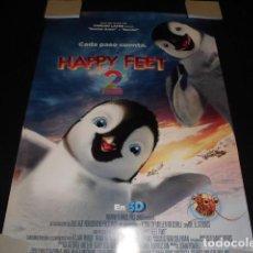 Cine: HAPPY FEET 2. POSTER O CARTEL ORIGINAL DE LA PELICULA.. Lote 127441131