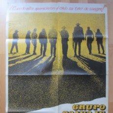 Cinema: CARTEL CINE, GRUPO SALVAJE, WILLIAM HOLDEN, ROBERT BRYAN, 1979, MCP, C1390. Lote 127765563