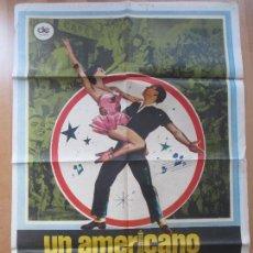 Cine: CARTEL CINE, UN AMERICANO EN PARIS, GENE KELLY, OSCAR LEVANT, 1980, C1401. Lote 127848023