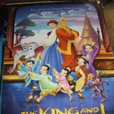 Cine: POSTER THE KING AND I 97X68 CMS. Lote 127926475