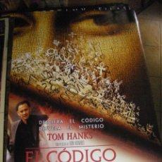 Cine: POSTER EL CÓDIGO DA VINCI. 97X68 CMS. Lote 128023879