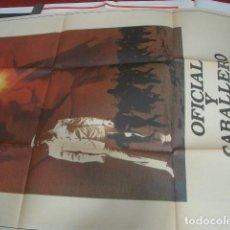 Cine: PÓSTER ORIGINAL OFICIAL Y CABALLERO RICHARD GERE, DEBRA WINGER, DAVID KEITH. Lote 288645333