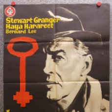 Cine: LA TERCERA LLAVE. STEWART GRANGER - 1961. Lote 128213195