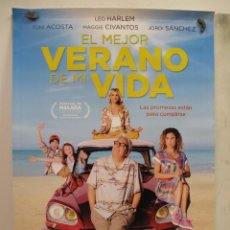 Cine: EL MEJOR VERANO DE MI VIDA. Lote 128235567