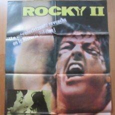 Cine: CARTEL CINE, ROCKY II, SYLVESTER STALLONE, 1978, C1421. Lote 128252571